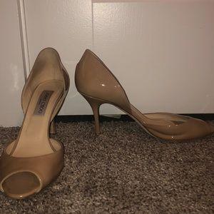 Jimmy choo nude heels
